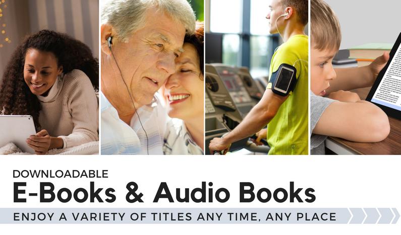 Downloadable eBooks & Audiobooks